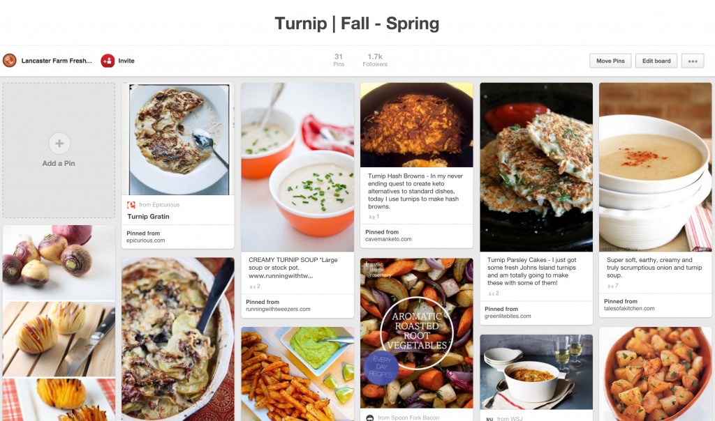 pinterest turnips