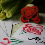 celery stamp art
