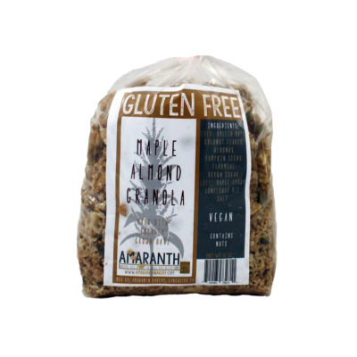 gluten free vegan granola package